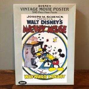 DISNEY's Mickey Mouse 540 Pc Puzzle NIB SEALED